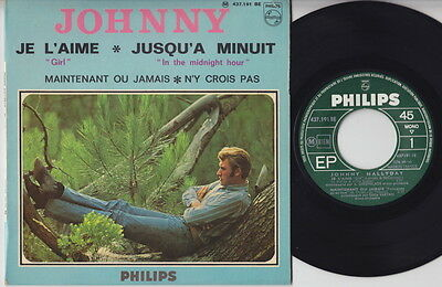 JOHNNY * 1966 French POP Jerk YeYe R&B GARAGE MOD SOUL EP * Listen!
