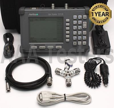 Anritsu SiteMaster S251B TwoPort Transmission Cable Antenna Analyzer BiasTee 10A