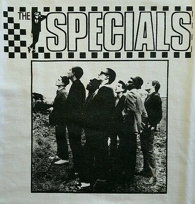 The Specials Ska White Canvas Back Patch