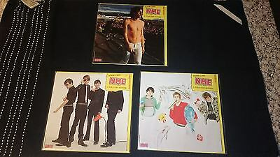 NME Blank Cards with fold out poster x 3 Razorlight/Klaxons/Franz Ferdinand NEW