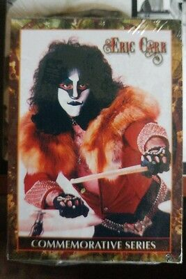 KISS - Eric Carr Trading Cards - Commemorative Series - Complete Set - 50