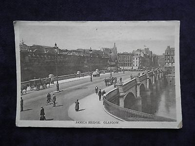 Old Scottish Postcard Of Jamaica Bridge, Glasgow