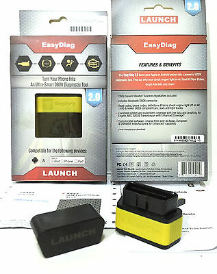 LAUNCH Easy Diag Kfz Diagnosesystem für Smartphones, Tablet, IOS Android, OBD 2