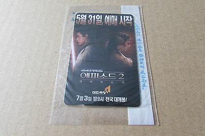 Star Wars Episode 2  Mint Sealed Phonecard From Korea (Auc)