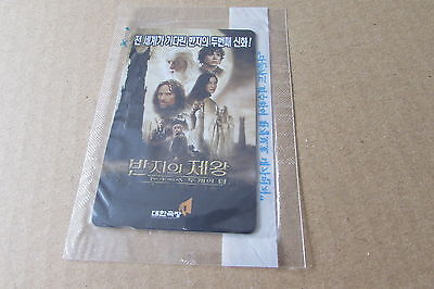 Lord Of The Rings  Mint Sealed Movie Chip Phonecard From Korea (Auc)