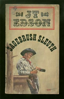 Sagebrush Sleuth by J. T. Edson (Paperback, 1966)