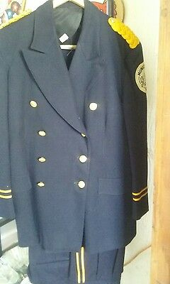 vintage marching band uniform