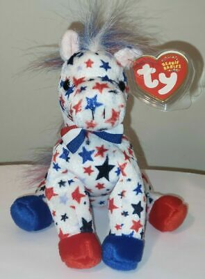 Ty Beanie Baby ~ LEFTY 2004 the Donkey ~ MINT with MINT TAGS ~ RETIRED