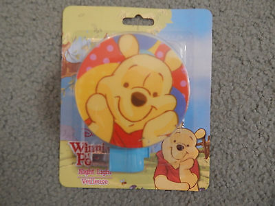Winnie The Pooh Night Light # 3 - (Brand New Never Used)
