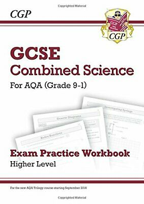 New Grade 9-1 GCSE Combined Science: AQA Exam Practice Workbook ... by CGP Books