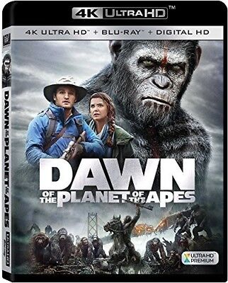 Dawn Of The Planet Of The Apes [New 4K UHD Blu-ray] With Blu-Ray, 4K Mastering