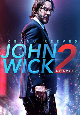 John Wick: Chapter 2 [New DVD] Ac-3/Dolby Digital, Dolby, Subtitled, Widescree
