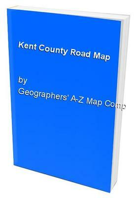 Kent County Road Map by Geographers' A-Z Map Company Sheet map, folded Book The