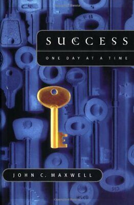 Success One Day at a Time by Maxwell, John Hardback Book The Cheap Fast Free