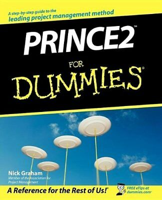 Prince2 For Dummies, Graham, Nick Paperback Book The Cheap Fast Free Post