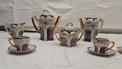 Antique China Tea set Germany Rare