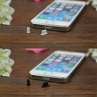 Earphone Plug 10Set(20Pcs)Anti Dust Cap Stopper Utility For iPhone 5S 5C 6S Plus