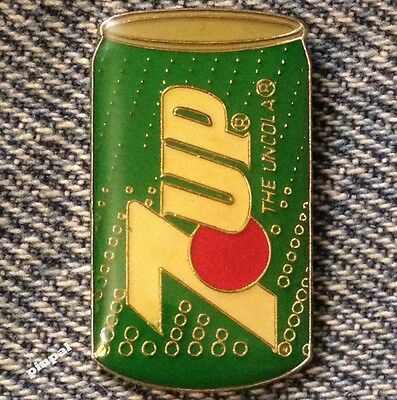 7up Lapel Pin ~ Can ~ THE UNCOLA ~ 1989 Vintage ~ 7 UP Logo ~ Soda ~ Soft Drink