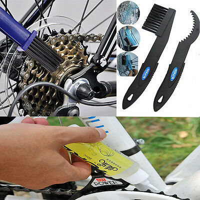 Bike Bicycle Cleaner Cleaning Brushes Scrubber MTB Lubricant Oil Mountain Bike