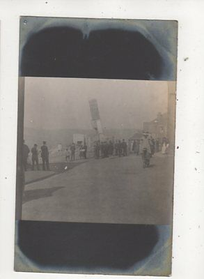 Pulling Down A Chimney At Hastings Sussex 1905 RP Postcard 629b