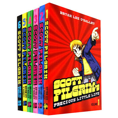 Scott Pilgrim Series 6 Books Collection Bryan Lee O'Malley Set Gets it Together