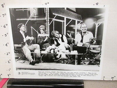 DINAH SHORE TV show photo 1979 Arnold Schwarzenegger Paul Lynde Ann-Margret