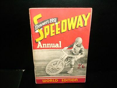 1951  Stenners  Speedway  Annual----World  Edition