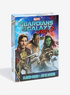 Marvel Guardians Of The Galaxy Vol 2 52 Playing Cards Deck Baby Groot Star Lord