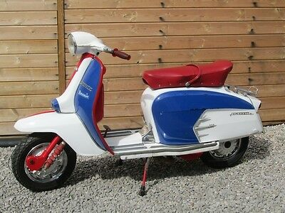 1988 Genuine Lambretta 200 - Sx200 Style - Full Uk V5C - Now Sold