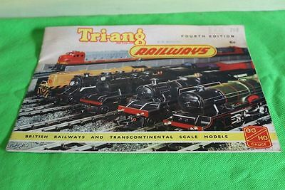 Triang Railways Catalogue Product Range 4Th Edition 1958