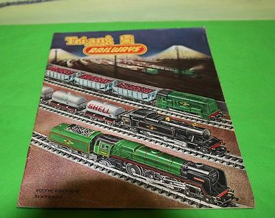 Triang Railways Tt Catalogue Product Range 1961 With Price List Fifth Edition