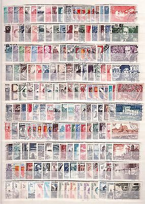 France Used Lot Of 312 Different Stamps F/vf 1948 To 1963 Scott $222.00 !!