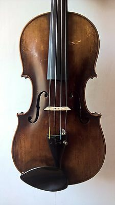 4/4 German violin C1890 labelled Jacobus Stainer