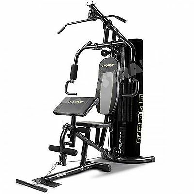 Multi Station Home Gym Cable Bench Press Preacher Machine Lat Pull Down Leg Ext