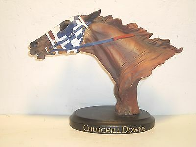 SECRETARIAT - Churchill Downs - Head & Neck Bust in MINT Condition