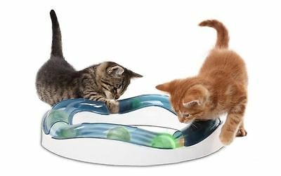 Interactive Toys For Cats Motion Activated Kitten Game Ball Peek A Boo Sensory