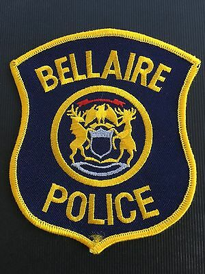 Bellaire  Michigian Police  Shoulder Patch