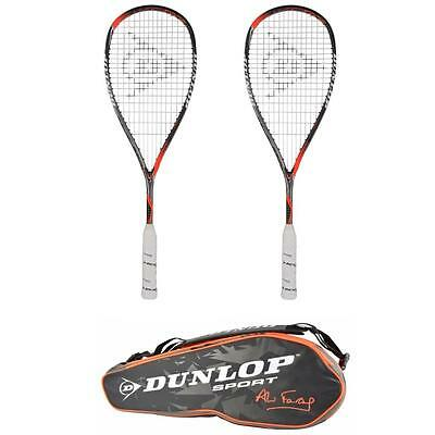 Dunlop Hyperfibre+ Revelation Pro Ali Farag Squash Racket & Bag Pack NEW 2017