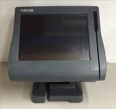 Micros Point Of Sale POS Workstation 4 System Unit w/ Compact Flash