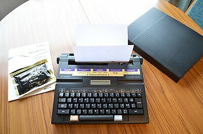Canon Typestar 10-II Portable Personal Electric Typewriter **Working and Ready**
