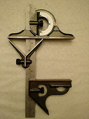 """Mitutoyo 12"""" 4 piece Combination Square Made in Japan"""