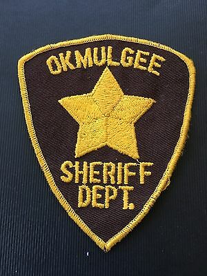 Okmulgee County  Oklahoma Sheriff Shoulder Patch