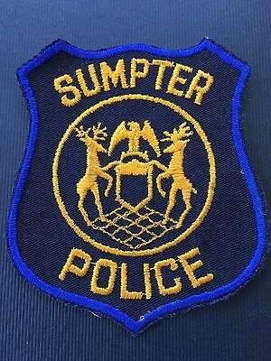 Sumpter  Michigan  Police Shoulder Patch