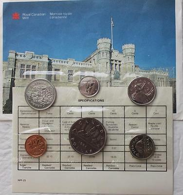 1987 Mint Proof Like Set, Sealed In Original Pliofilm With Envelpe & COA Incl.