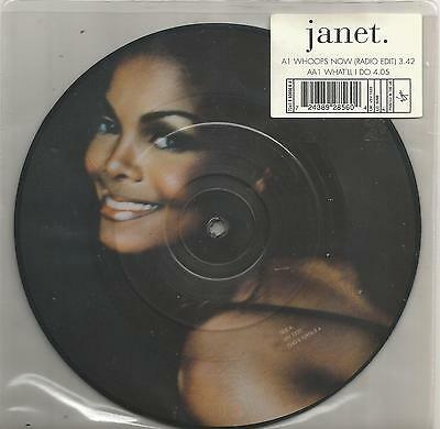 Janet Jackson - Whoops Now 7 inch picture disc single