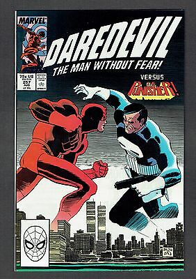 Daredevil #257 Vs. The Punisher Marvel Comics NM- 1988 Man Without Fear Netflix