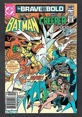 Brave and the Bold #178 DC Comics VF+ 1981 Batman & Creeper in 'Paperchase'
