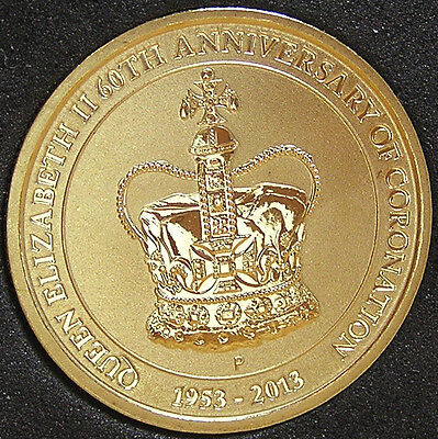 *2013 Australian '60th Anniversary of Queen Elizabeth II Coronation' $1 UNC*
