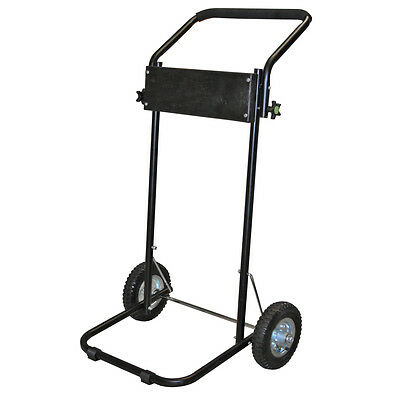 Outboard Boat Motor Stand Cart With Folding Handle 85lb Capacity