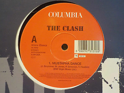 "The Clash Mustapha Dance / Magnificent Dance Rare 2002 12"" Vinyl Punk Rock"